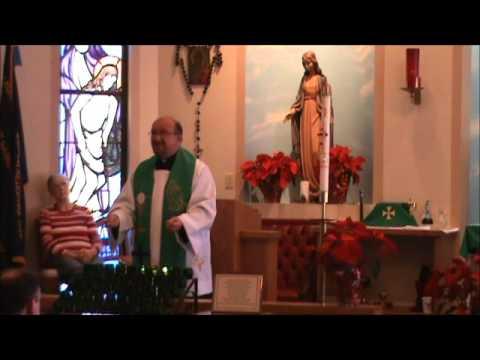 Catholic Mass Jan 15, 2012