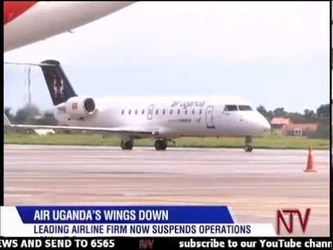 Air Uganda suspends operations