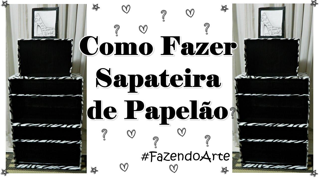 DIY: Como Fazer Sapateira de Papel?o #FazendoArte - YouTube