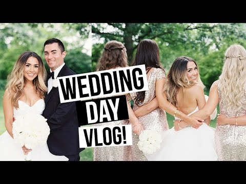 WEDDING DAY VLOG! Alex and Michael