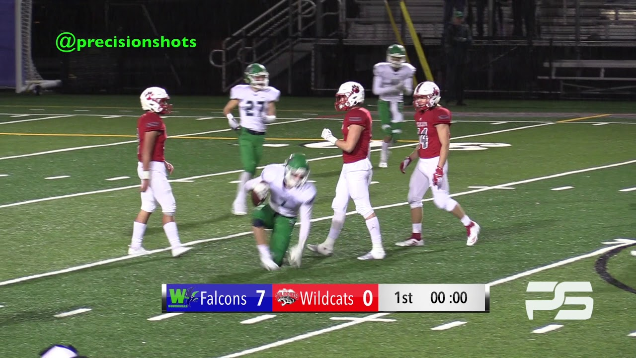Kingco 4a Title Game 7 1 Woodinville Falcons Vs 8 0