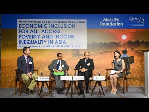 Economic Inclusion for All: Access, Poverty and Income Inequality in Asia (Complete)