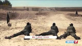 Isis militants beheaded two Syrian women for 'Sorcery'| World | News7 Tamil
