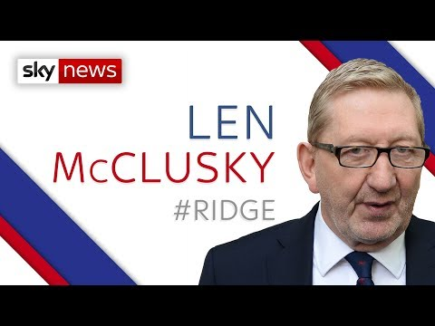Len McCluskey: Jeremy Corbyn Disliked Only Due To Brexit