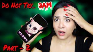 Talking to Haunted *Angela* at 3 AM Challenge! Real or Fake? Part - 2 | Nilanjana Dhar