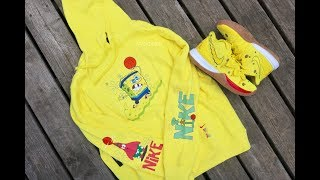 NIKE SPONGEBOB KYRIE HOODIE | SUPREME BALACLAVA RED | MUTUMBO DENVER NUGGETS THROWBACK M&NESS