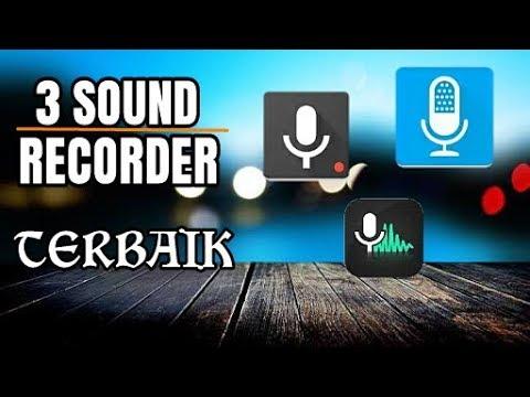 3 aplikasi perekam suara terbaik di android (smart recorder,audio recorder,hi-q mp3 recorder pro)
