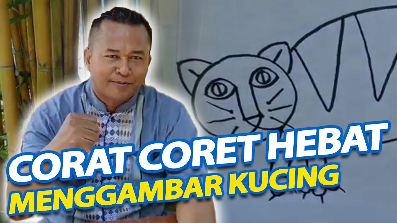 Corat Coret Hebat Menggambar Kucing - Paud Doa Bangsa