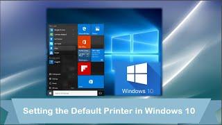 windows 10 setting the default printer