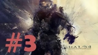 Halo 4 Walkthrough - Gameplay Commentary - Part 3 (X360)