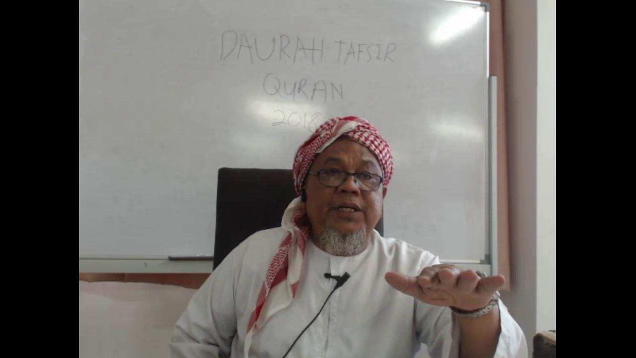 Download DAURAH TAFSIR  QURAN DI MADRASAH TAFSIR SUNNAH 2018 SESI 2 PAGI  ( 29-4-18)