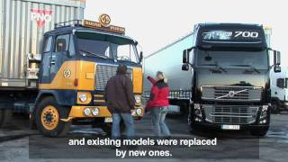 Volvo Trucks - Malin Aspman, 22, test-drives the Volvo F88 and the Volvo FH16 700