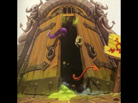 Играем в настольную игру Прогулки в Подземелье