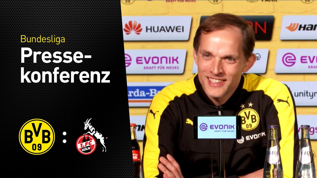 Thomas Tuchel: Großes Kompliment an die Mannschaft | BVB - 1. FC Köln 0:0