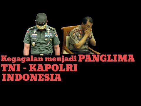 CALON PANGLIMA TNI DAN KAPOLRI YANG TIDAK TERPILIH