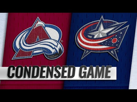 10/09/18 Condensed Game: Avalanche @ Blue Jackets