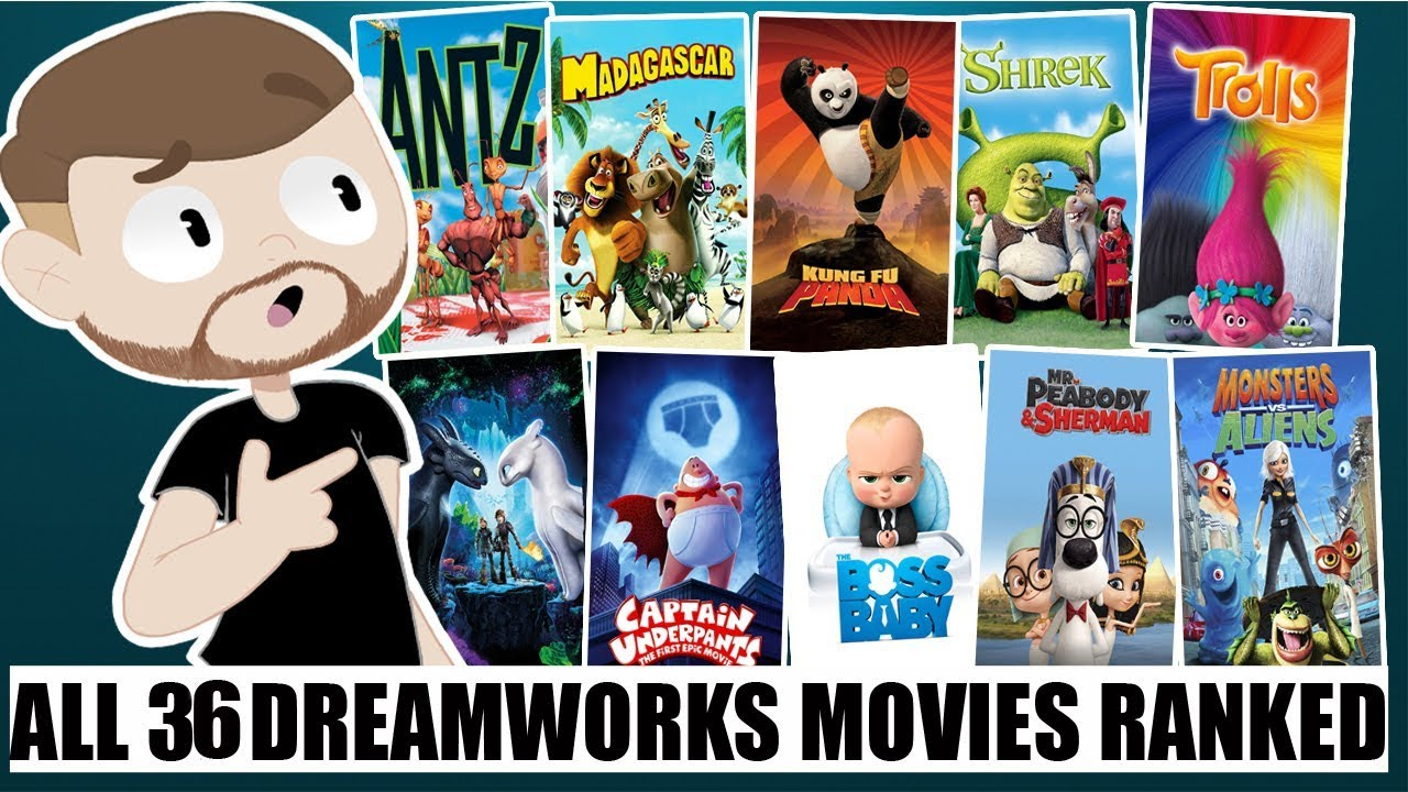 All 36 Dreamworks Animation Movies Ranked With How to Train Your Dragon 3
