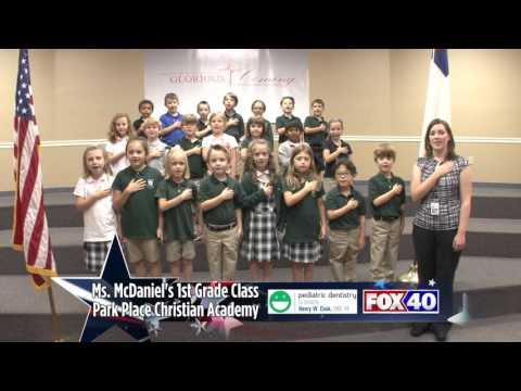 Park Place Christian Academy - Ms. McDaniel's 1st Grade Class