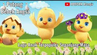 POTONG BEBEK ANGSA   Lagu Anak Terpopuler   Animasi Lagu Bebek
