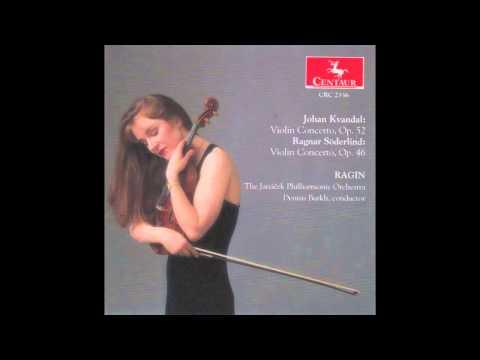 Johan Kvandal Violin Concerto, Op. 52,  1. Allegro