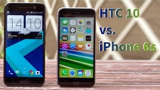 iPhone 6s vs. HTC 10 im Vergleich - GIGA.DE