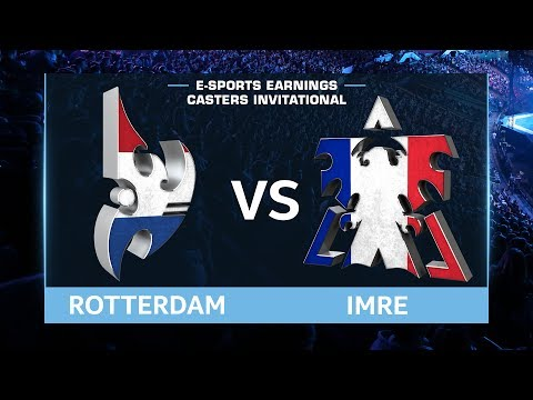 StarCraft 2 - RotterdaM vs. Imre (PvT) - EsportsEarnings Casters Invitational - Group B Match #2