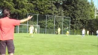 1.Vorrundenspiel der Gruppe B: VFR Linden-Neusen gegen Rhenania Würselen