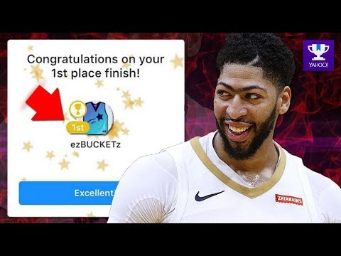 My Fantasy Basketball Team 2018 And How I CAME FIRST PLACE!