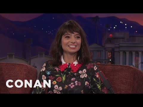 Kate Micucci's Brief & Bloody Stint As A Magician's Assistant   CONAN on TBS