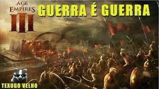 Guerra contra os Portugueses - AGE OF EMPIRES 3 - TEXUGO VELHO - PT BR
