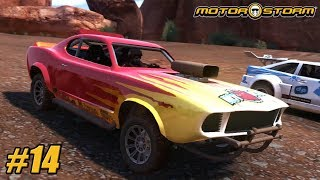 MotorStorm - Playthrough Gameplay Ps3 - Level 3 - Colossus PART 14
