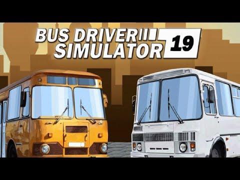 Bus Driver Simulator 2019 ► Работаю водителем автобуса