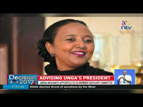 Foreign Affairs CS Amina Mohamed appointed to UNGA's 15-member Advisory Committee