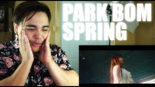 Gambar cover PARK BOM - SPRING feat. Sandara Park | SORRY I'M IN MY FEELS T^T
