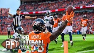 Texans acquire Broncos WR Demaryius Thomas for playoff run I Pro Football Talk I NBC Sports