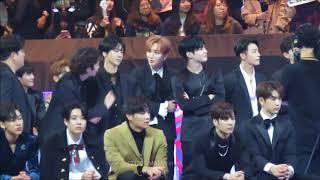 171201 Mama In Hk - Suju & Taemin React To Exo Winning Album Of The Year