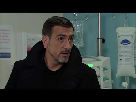 Coronation Street - Nick Watches Over Leanne In Hospital