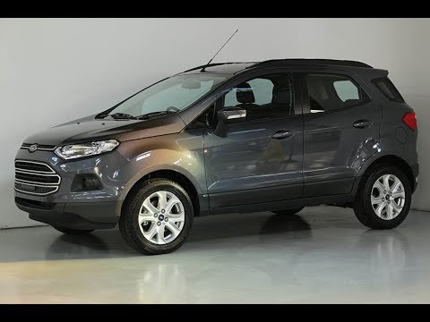 2017 ford ecosport trend team hutchinson ford youtube. Black Bedroom Furniture Sets. Home Design Ideas