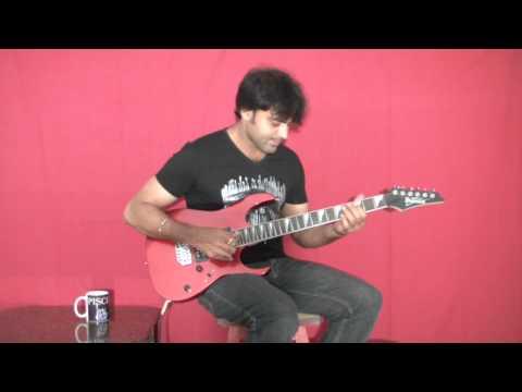 Mustafa Mustafa from Prema Desam/Kadhal Desam-Guitar Solo by Lakshman :)