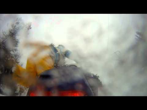 Jake Wolff Snowmobile GoPro