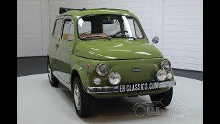 Fiat 500 Autobianchi Giardiniera 1973 -VIDEO- www.ERclassics.com