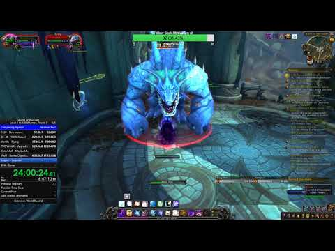 WoW Speed Leveling: Lvl 1-120 (Non-Monk/Solo/BFA) - 34:07:31 Part 3