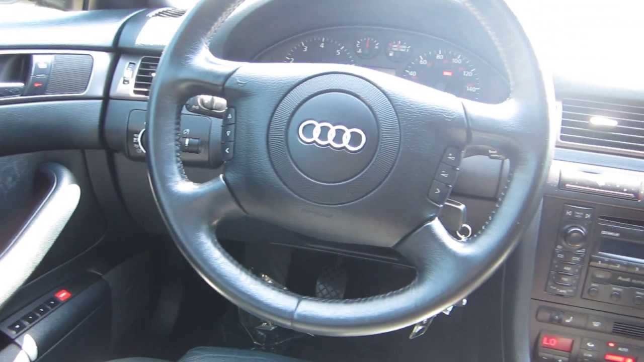 Audi A Gray STOCK A Interior YouTube - 2000 audi a6