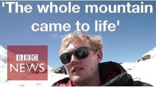 Nepal Earthquake: BBC journalist on Everest when quake hit - BBC News