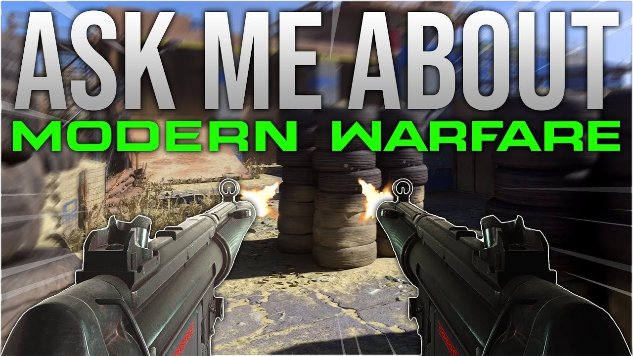 Fragen Sie mich nach Call of Duty: Modern Warfare + video