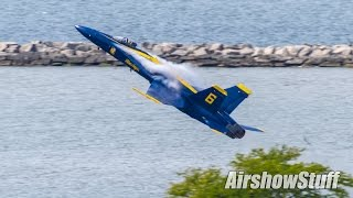 US Navy Blue Angels - Takeoffs - Cleveland National Airshow 2016