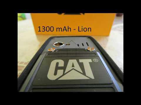 CATERPILLAR B25 - Unboxing and review - GREEK