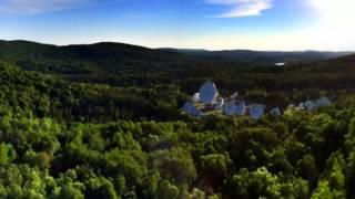 Rock climbing, Adagio, Weir, Quebec, Canada