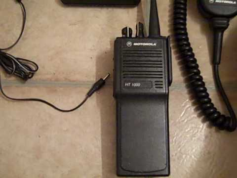 motorola ht1000 450 512 uhf two way radio package youtube rh youtube com Motorola Police Radios motorola mt1000 manual