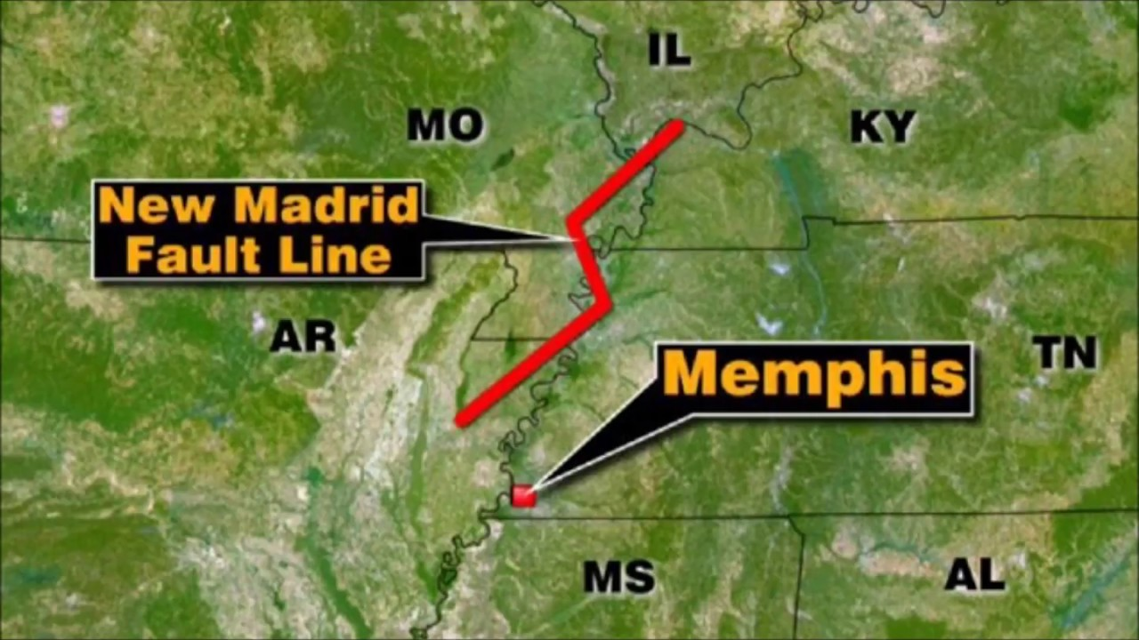 Fault Lines In Missouri Map.Mississippi River Level Mysteriously Drops New Madrid Seismic Zone